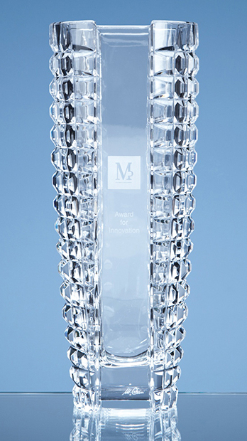 Large image for Mario Cioni Lead Crystal Luxe Vase