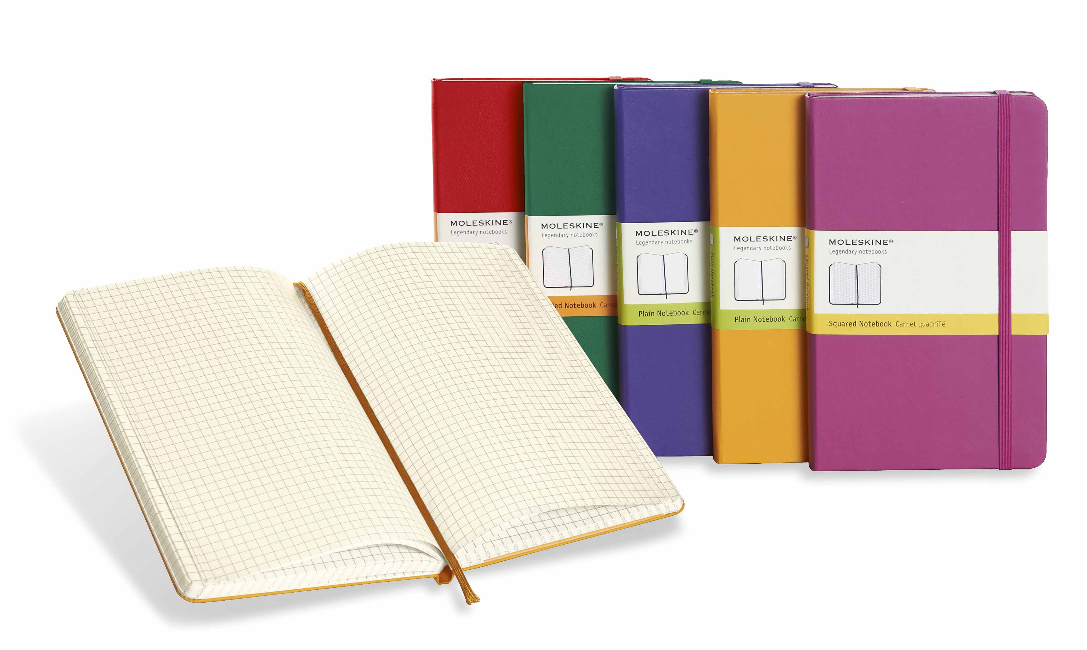 Large image for Coloured Moleskine® Notebooks