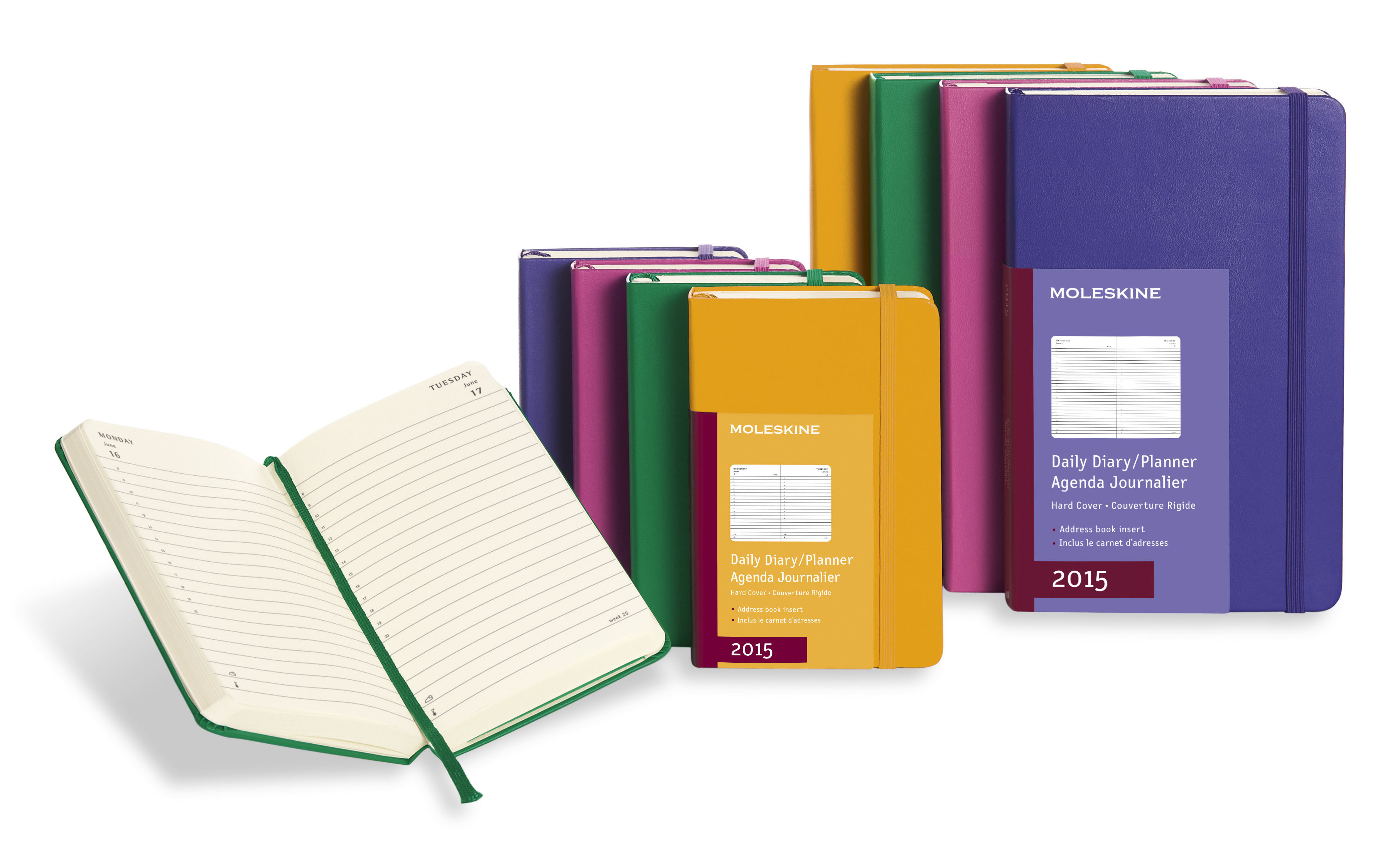 Large image for Moleskine® Coloured Daily Diary
