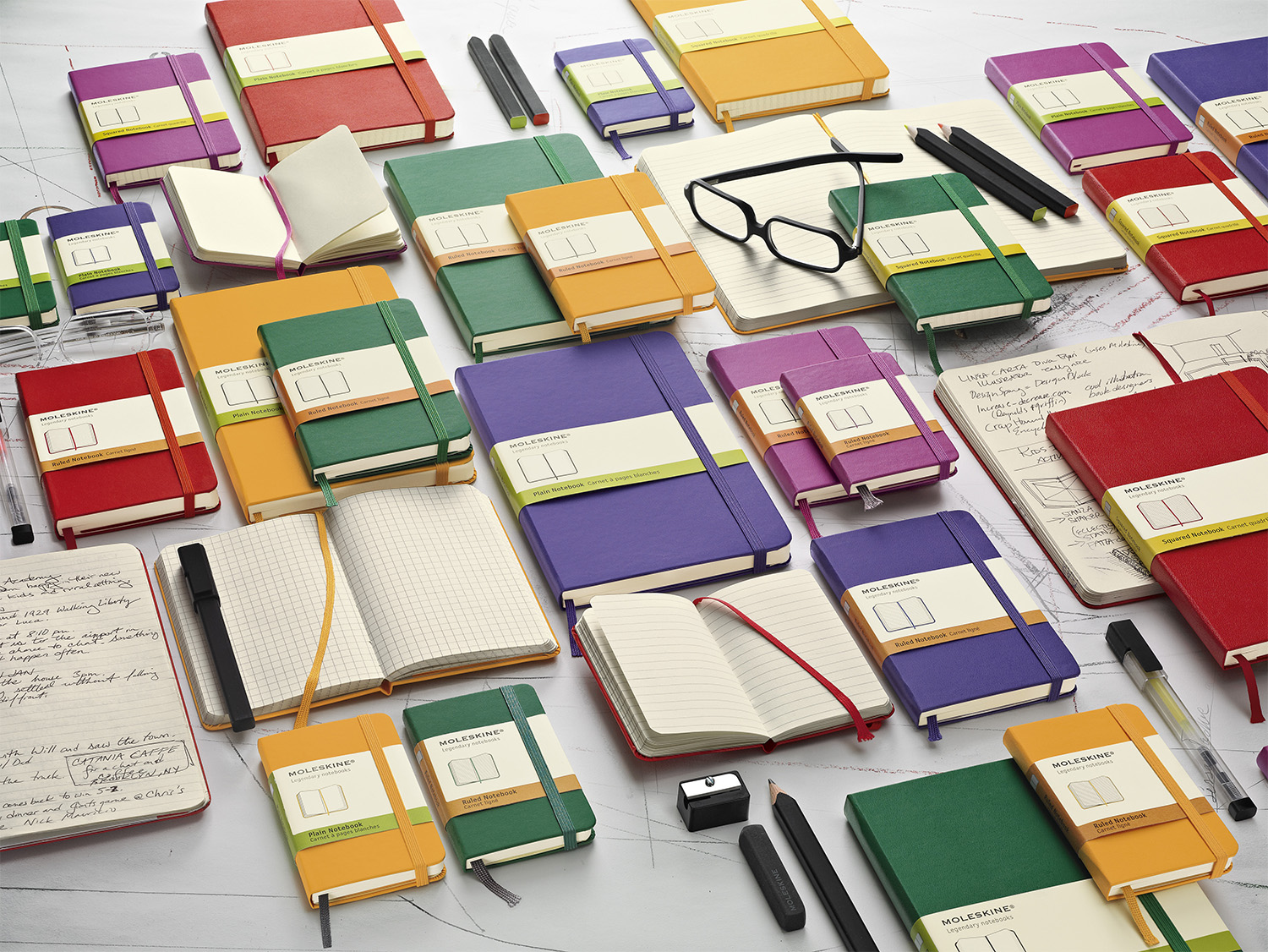 Large image for Moleskine® Coloured Notebooks