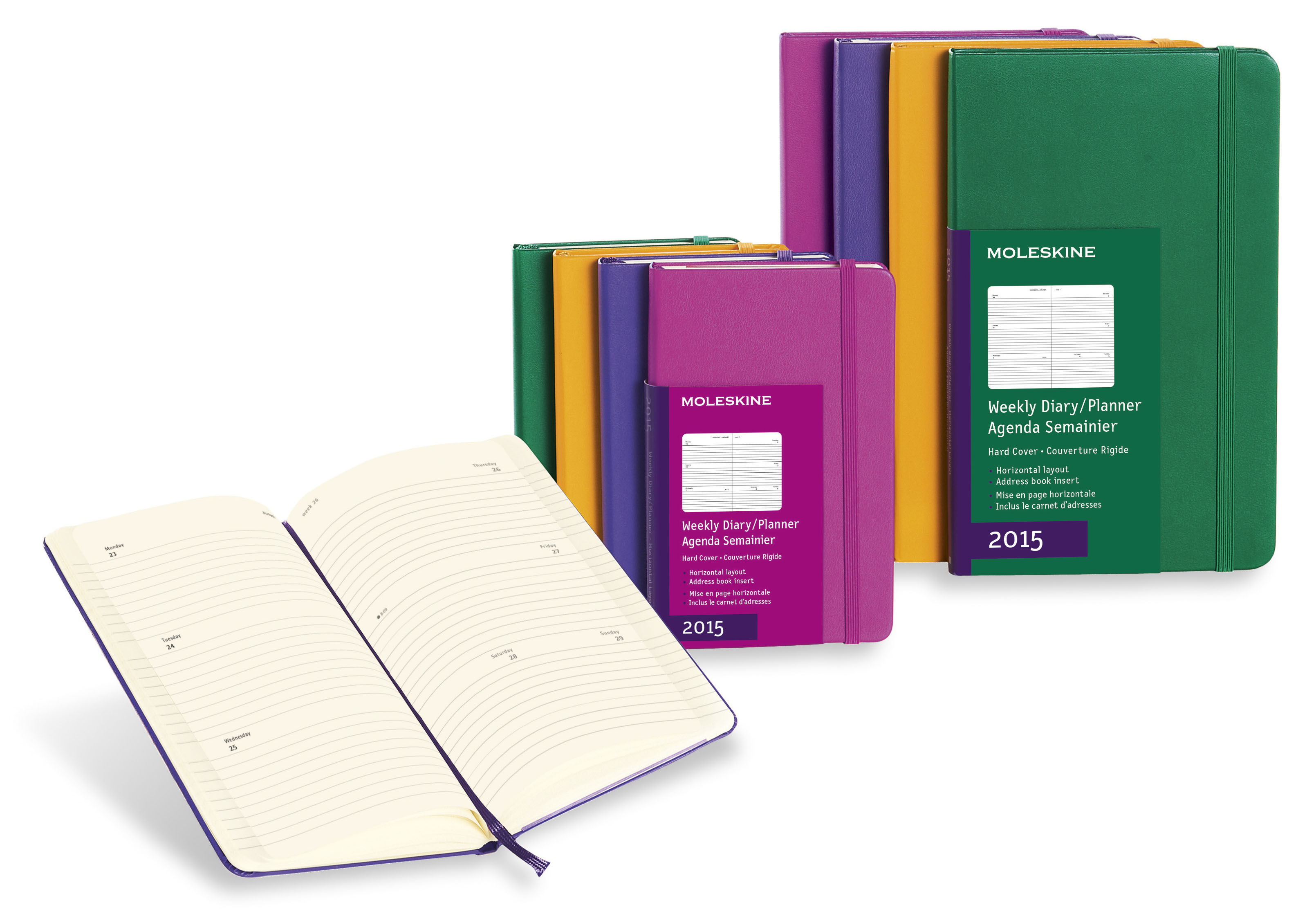 Large image for Moleskine® Coloured Weekly Diary