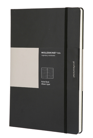 Large image for Moleskine® Professional A4 Ruled Notebook