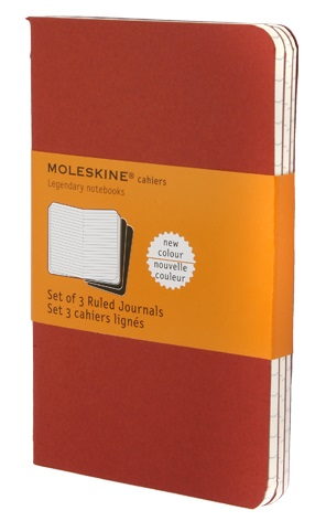 Large image for Red Moleskine® Cahier Journal