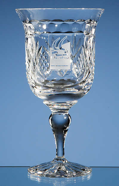 Large image for Shire Crystal Panel Goblet