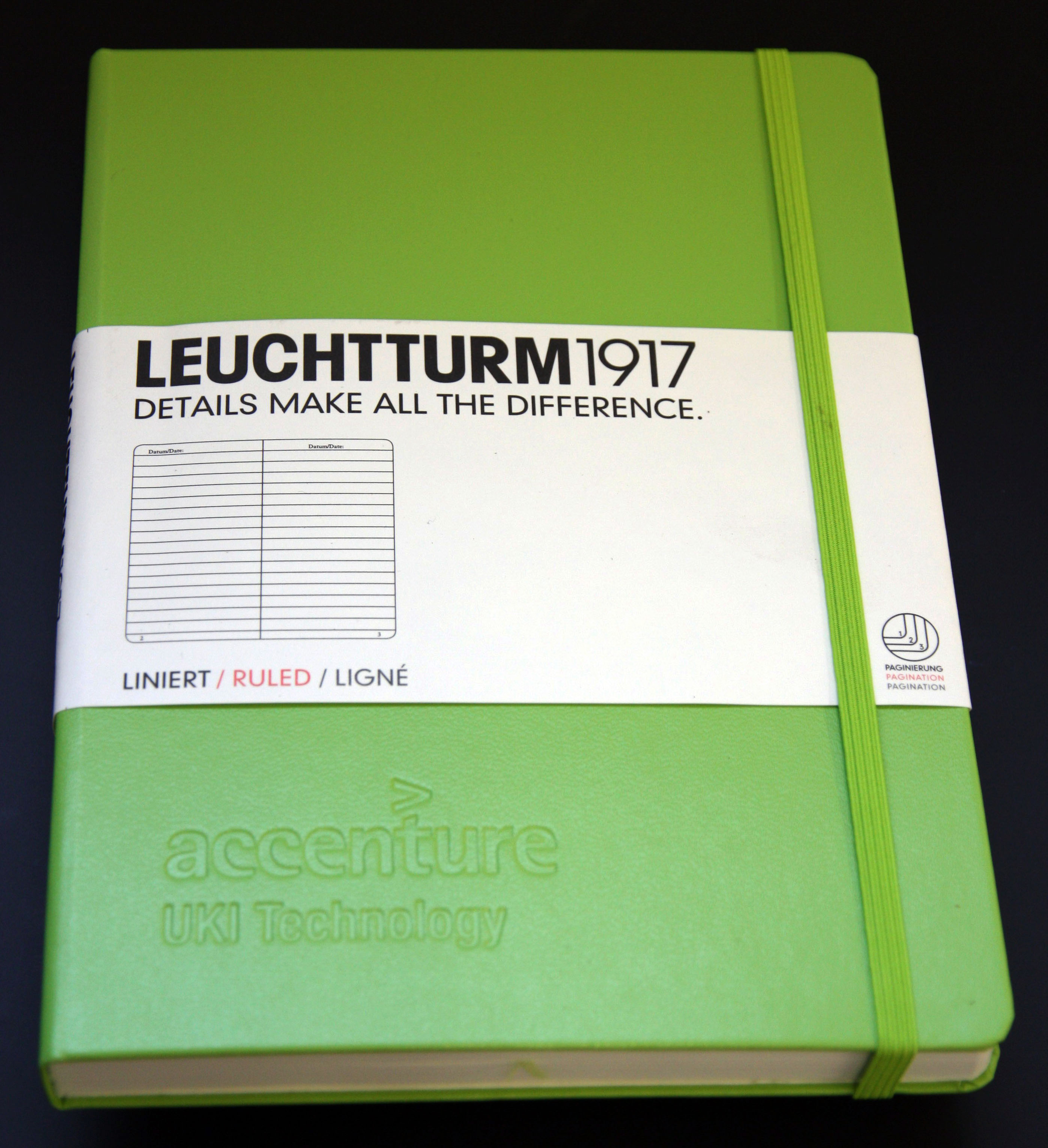 Large image for Leuchtturm Lime Green Notebook