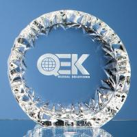 Thumbnail for 13cm Mario Cioni Lead Crystal Tech Roundel
