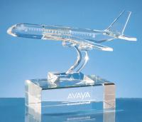 Thumbnail for 20.5cm Optical Crystal Plane Award
