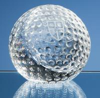 Thumbnail for Optical Crystal Golf Ball Paperweight